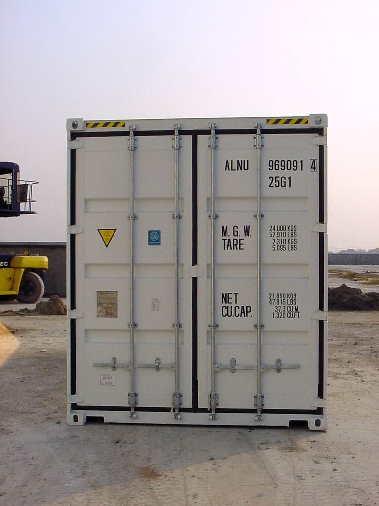 20ft Dry High Cube Nieuw   DTC