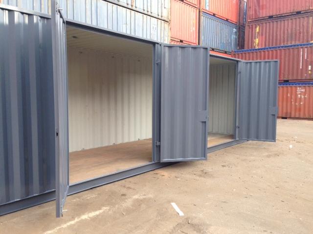 30 ft Zeecontainer met openslaande deuren   DTC