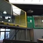 Containereinheit als trendy Büro
