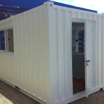 20ft Dv container turned into an office