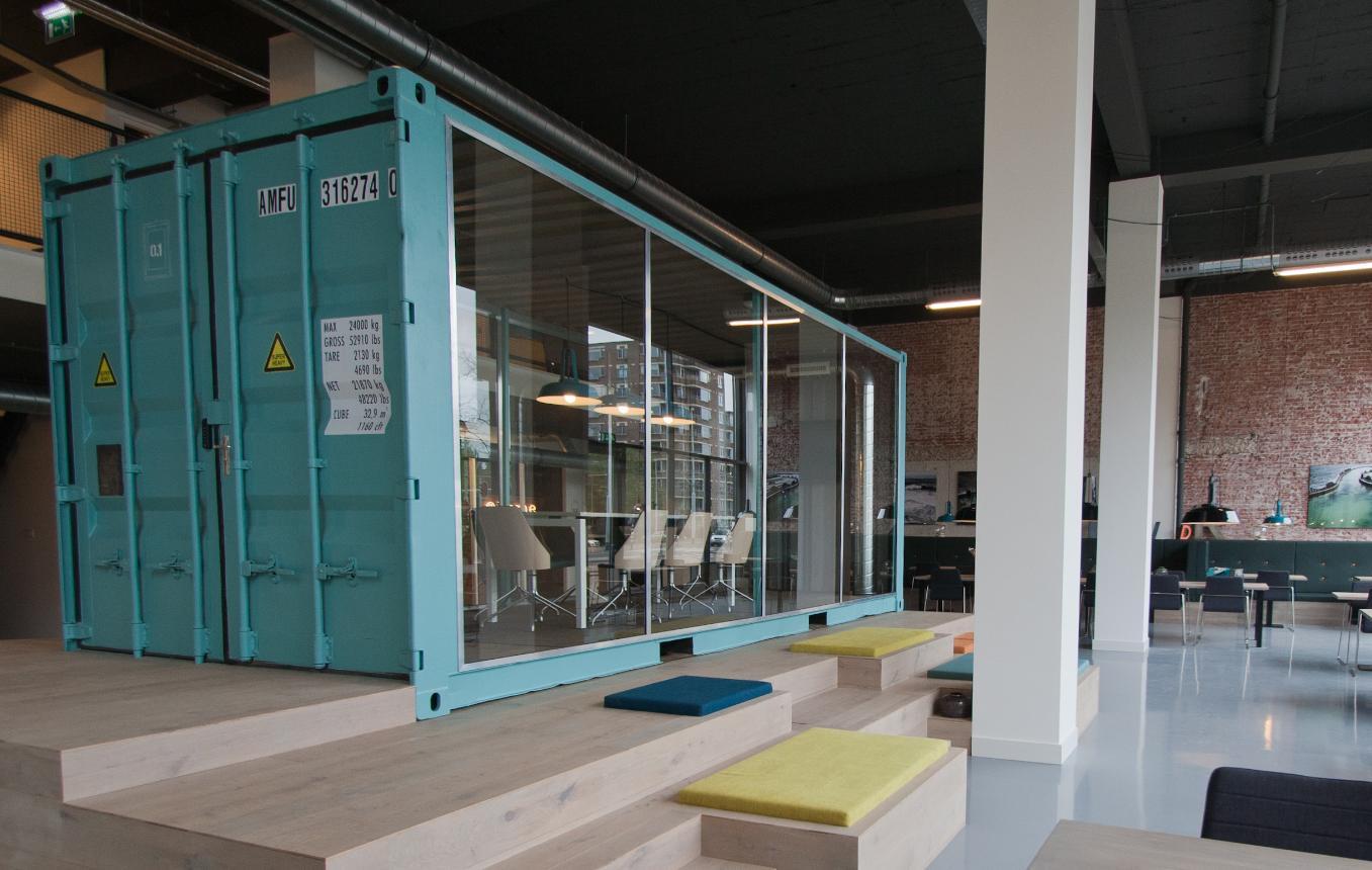 Het nieuwe kantoor dtc - Thuis container verkoop ...