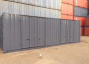30ft container openslaande deuren
