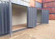 30ft container met openslaande deuren