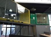 Containerunit als trendy kantoor