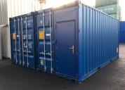 Geschakelde Werkplaatscontainers