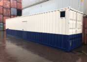 Two tone spuitwerk Container